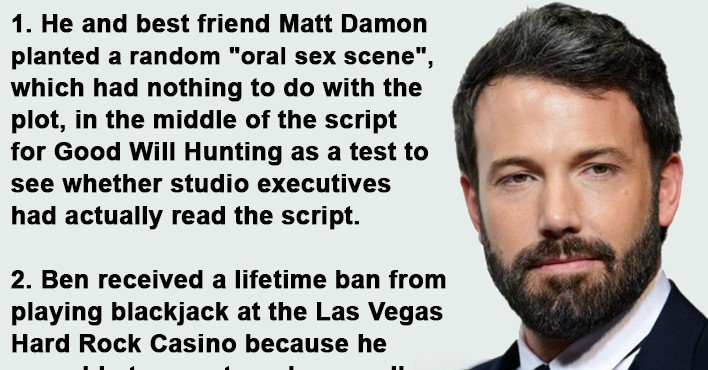 Viralitytoday 14 Facts About Ben Affleck You Probably
