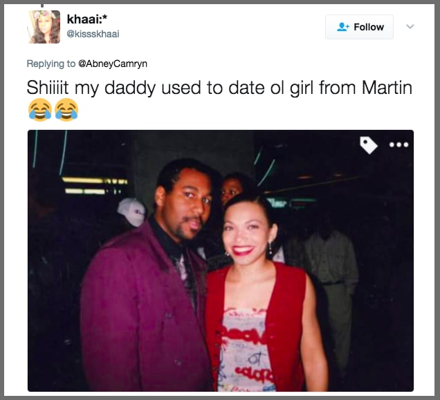 13. This dad who dated Tisha Campbell-Martin: