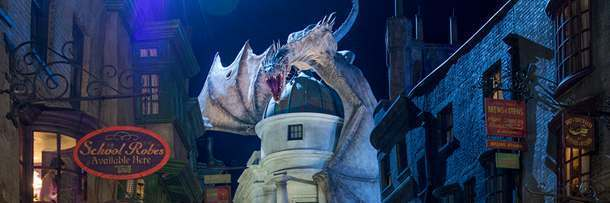 Cast Secret Spells At The Wizarding World of Harry Potter