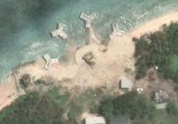 Taiping Island, also known as Itu Aba, is part of the Spratly Island chain currently embroiled in increasingly tense South China Sea territorial disputes.