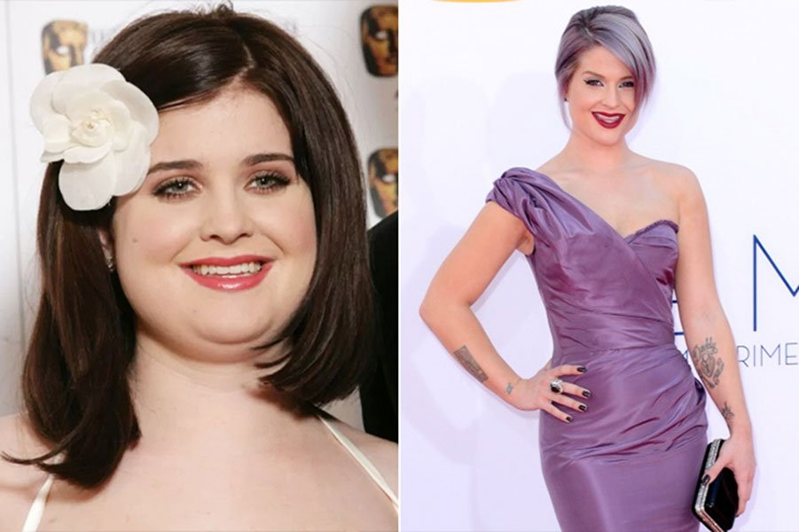 3. Kelly Osbourne Is Born Again