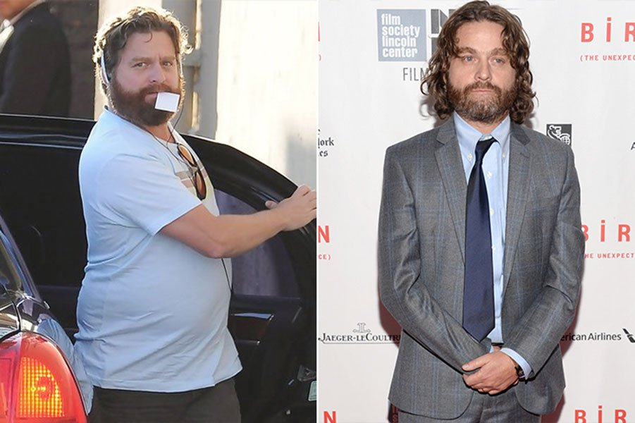 5. Not The Same Zach Galifianakis
