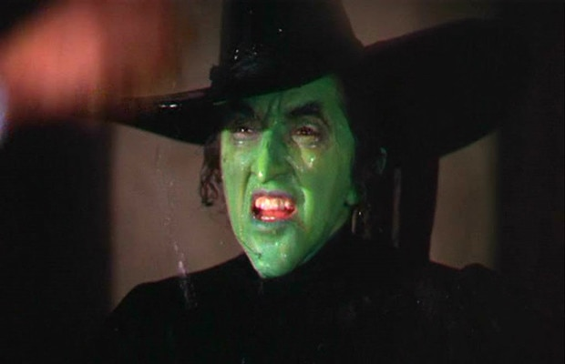 The Wicked Witch actually almost burned to death during filming.