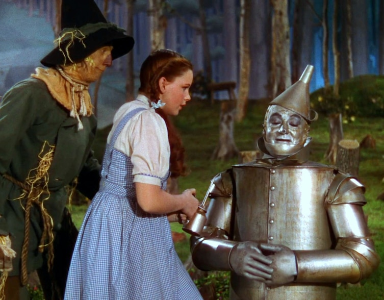 The actor who was initially cast as Tin Man has a severe allergic reaction to the aluminum powder makeup.