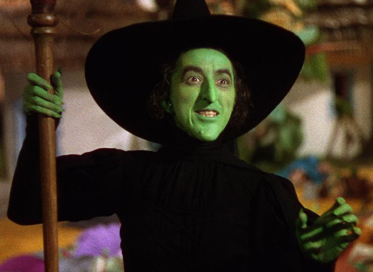 The Wicked Witch used to sneak into the Good Witch's dressing room.