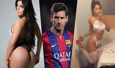 Lionel Messi Blocks Miss BumBum On Instagram For These Photos