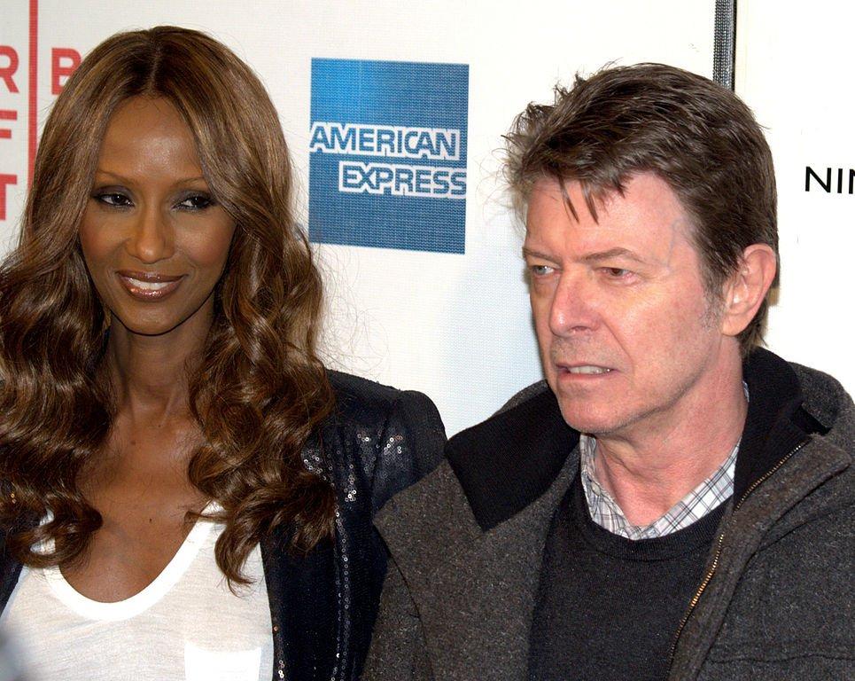 10. David Bowie & Iman