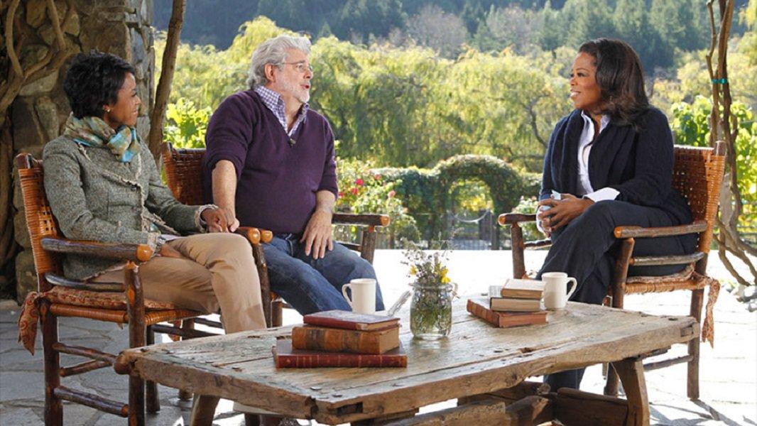 1. George Lucas & Mellody Hobson
