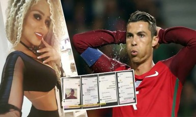 Miss BumBum Reveals Secret Whatsapp Messages Cristiano Ronaldo Sent Her
