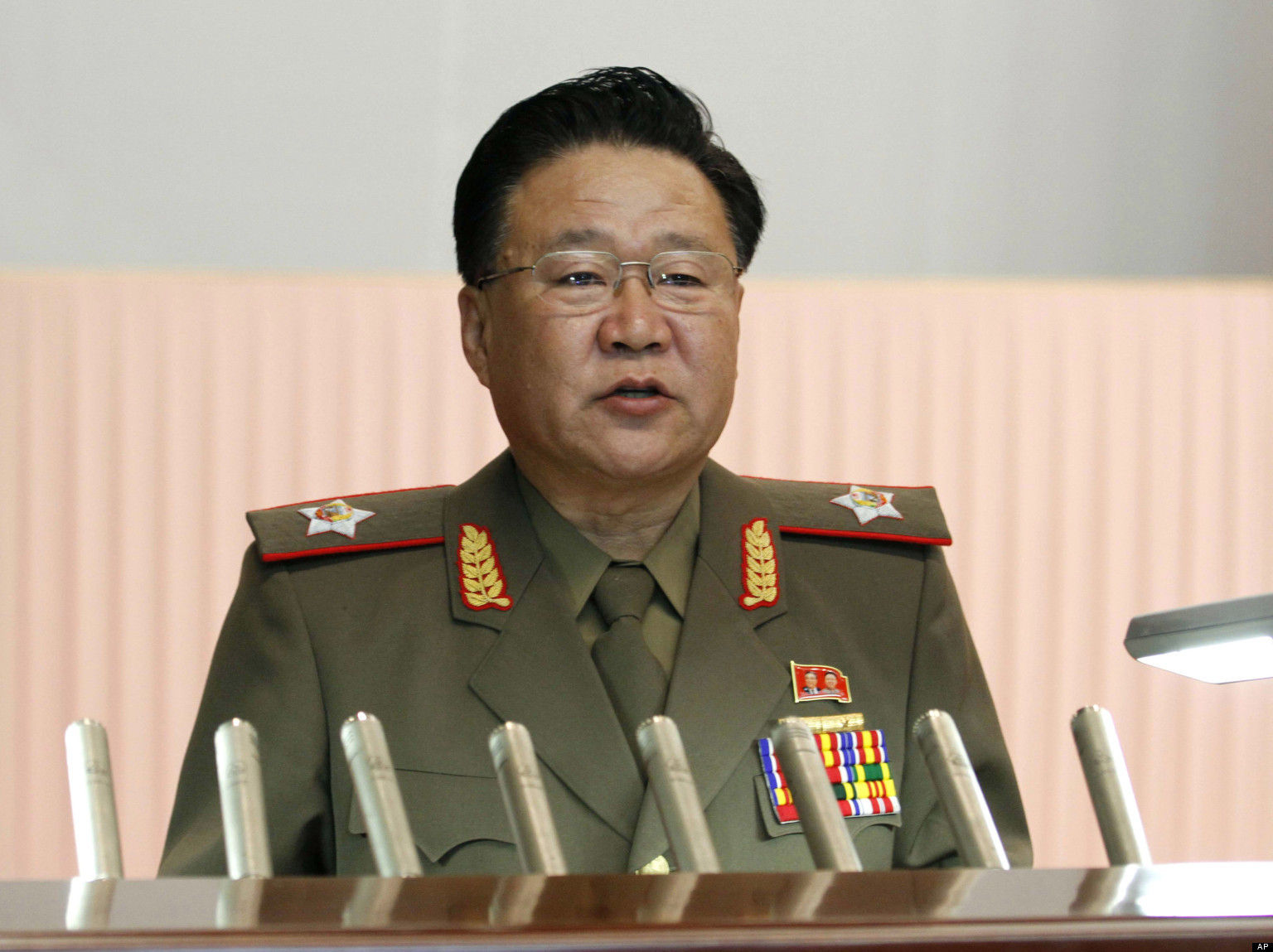 Choe Ryong Hae, senior member of Workers' Party of Korea