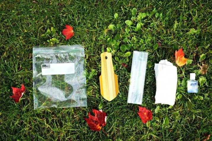 26. Pack a grab-and-go poo kit if your campsite doesn't have bathroom facilities nearby.