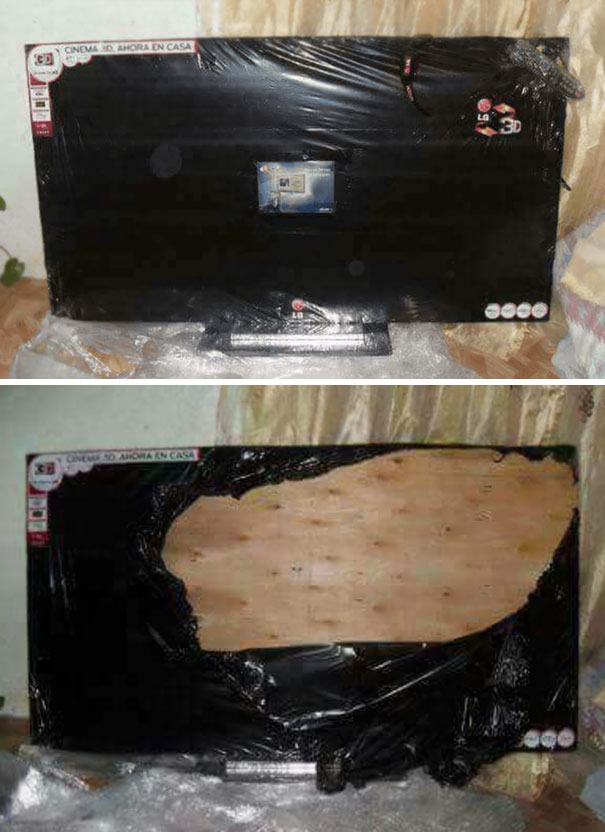 8. Probably Wasn't A Good Idea To Purchase This TV From Unreliable Vendors