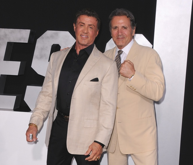 Sylvester Stallone and his younger brother Frank