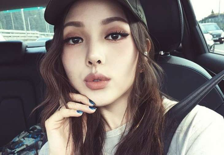 This is Park Hye Min, a South Korean makeup artist who has her own line of cosmetics.