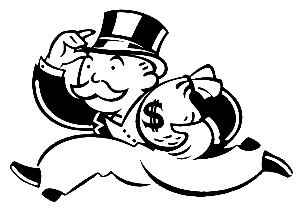 6. Mr. Monopoly's original name was Rich Uncle Pennybags.