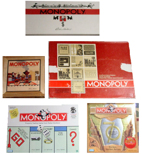 1. Parker Brothers released the first official MONOPOLY game in 1935 — in the midst of the Great Depression.