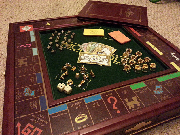 4. In the classic version of MONOPOLY from the '30s, the bank contained a mere $15,140.