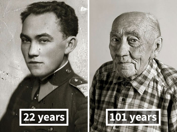 #6  Prokop Vejdělek, 22 Years Old (Oath Of Enlistment), 101 Years Old