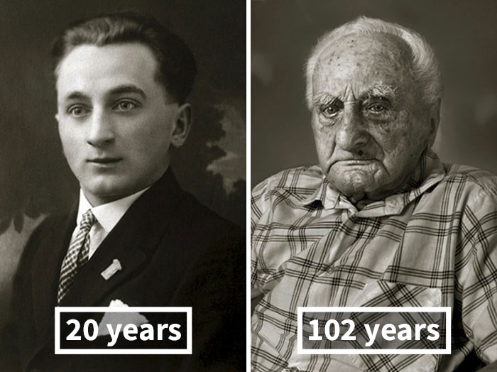 #12 Ludvík Chybík, 20 Years Old (Skilled Confectioner), 102 Years Old