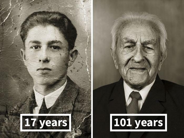 #5 Antonín Baldrman, 17 Years Old (Skilled Locksmith), 101 Years Old