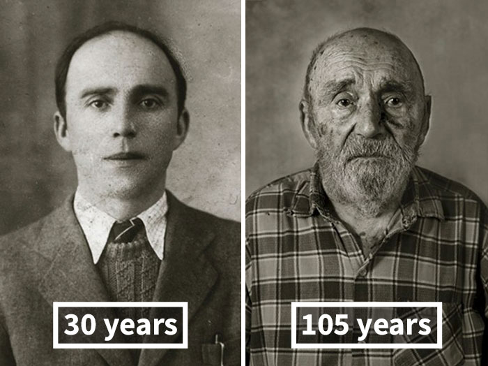 #10 Vincenc Jetelina, 30 Years Old (Finished His House), 105 Years Old