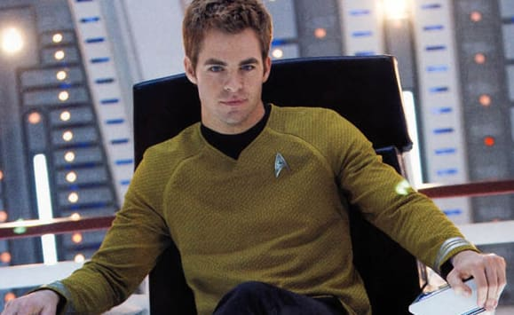 He previously played James T. Kirk in the Star Trek movies.