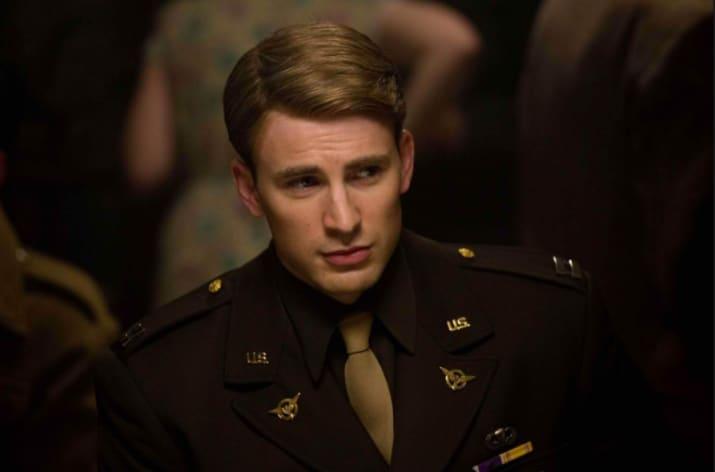 Then there's Chris Evans, a.k.a. Captain America. He also plays a character by that name in the Marvel Cinematic Universe.