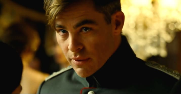 Let's start with Chris Pine. Currently winning hearts thanks to his role as Steve Trevor in Wonder Woman.