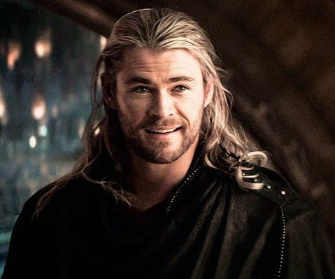 Finally, we have Chris Hemsworth, the god of thunder from Down Under, a.k.a. Thor in the Marvel Cinematic Universe.