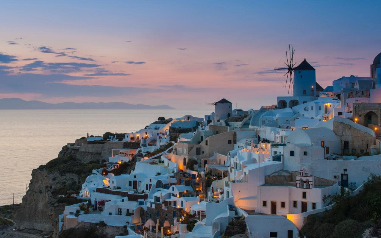 #13 in Best Places to Visit in Europe: Santorini