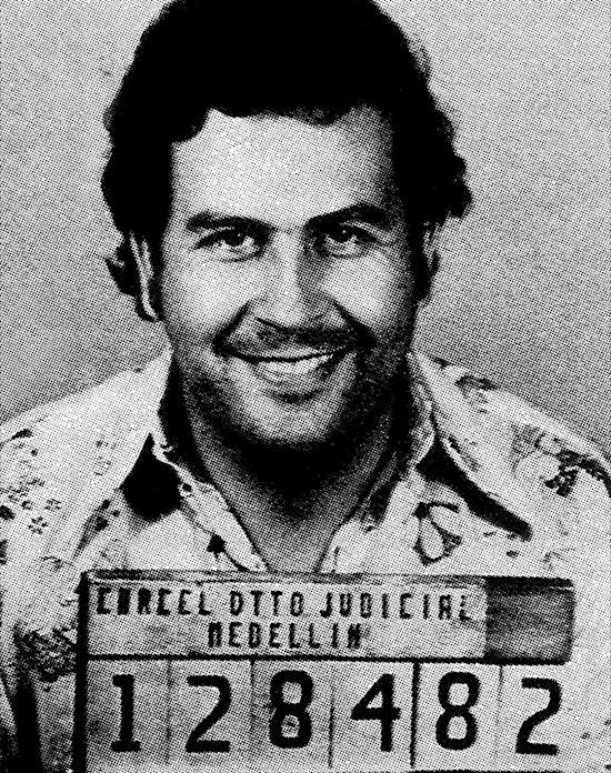 Escobar took many trips to smuggle cocaine and when he got arrested he would bribe the judge or officials to have the charges dropped.