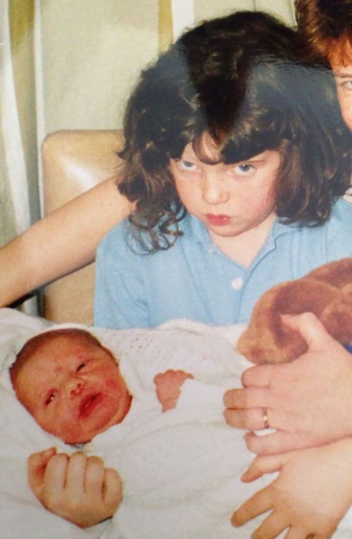 #15 When U Realise Ur Not The Only Child Anymore