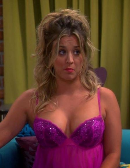 viralitytoday - kaley cuoco exposes her breast in a snapchat photo