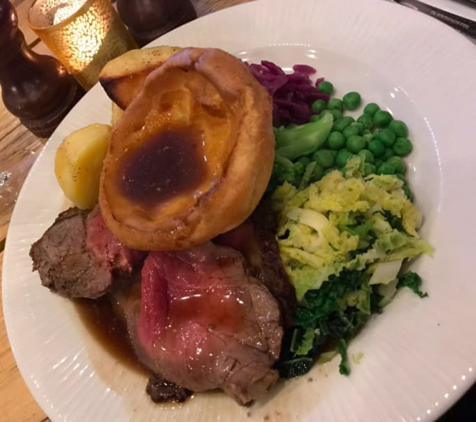14. Sunday roasts in general, but especially the Yorkshire puddings.