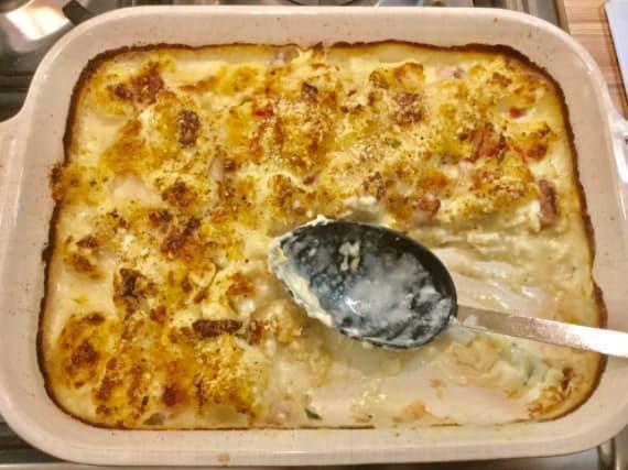 13. Cauliflower cheese.