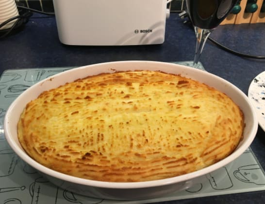 20. Shepherd's and/or cottage pie.