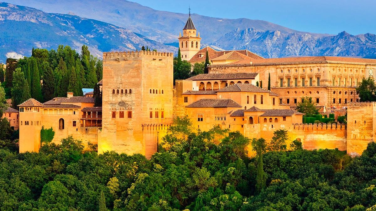 4. Granada, Spain