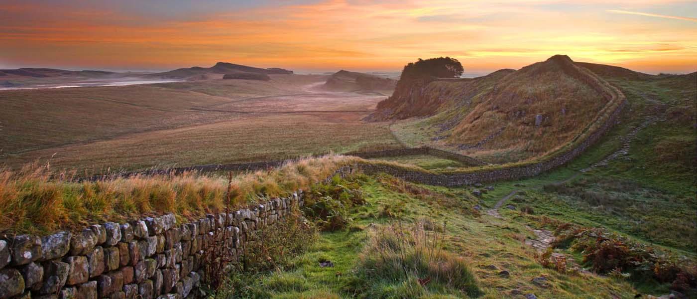 5. Hadrian's Wall, England