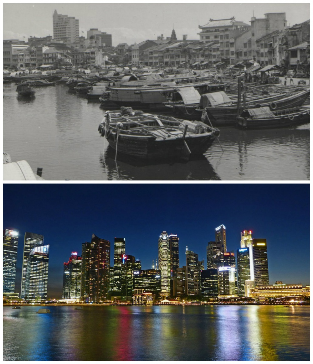 Singapore: The 1960s vs. now