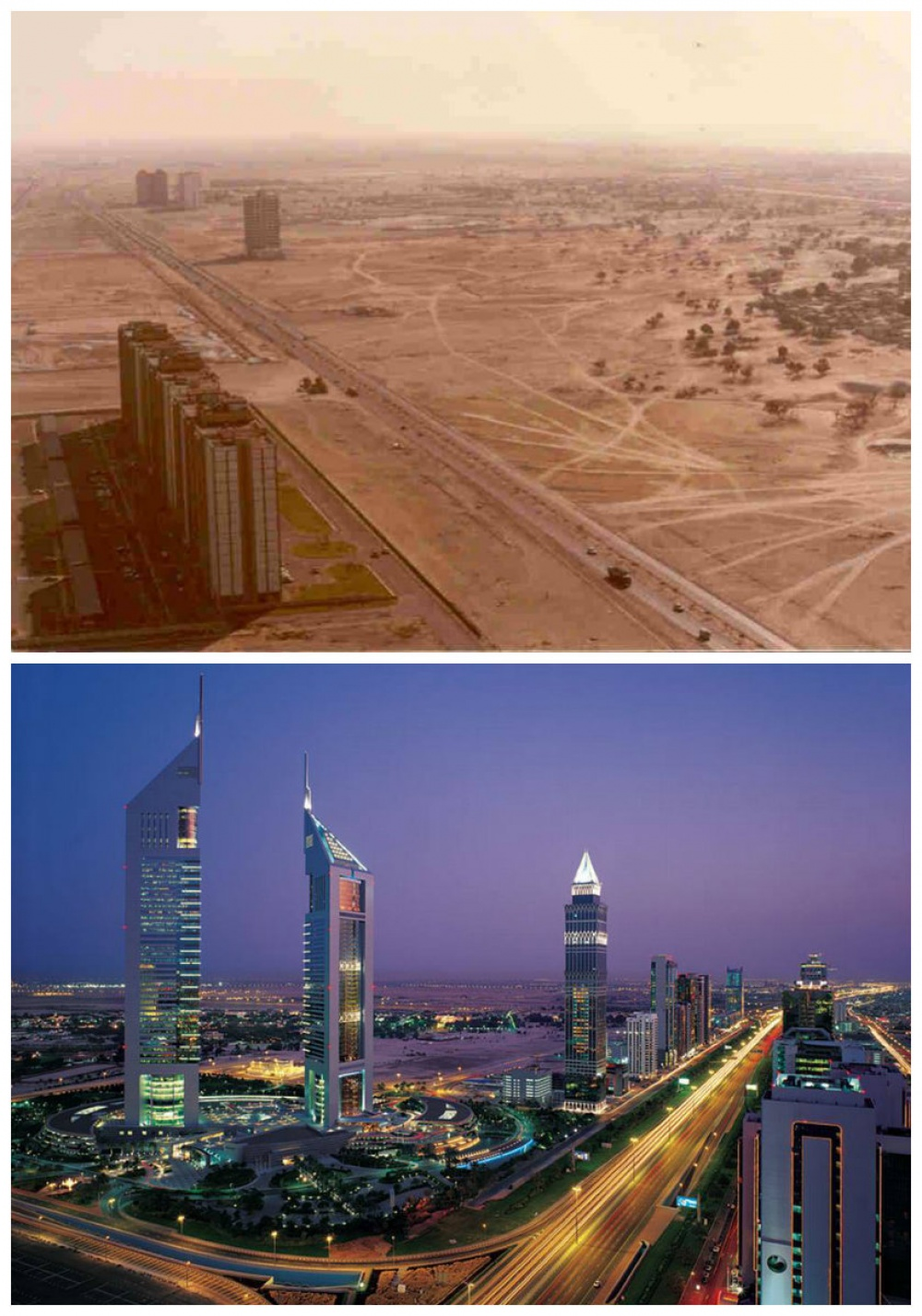 Dubai, UAE: The 1980s vs. today