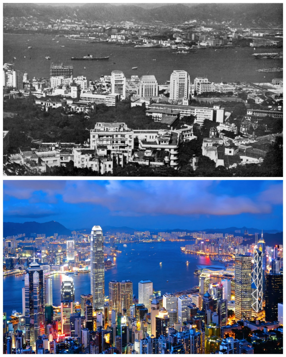 Hong Kong: The 1960s vs. the present
