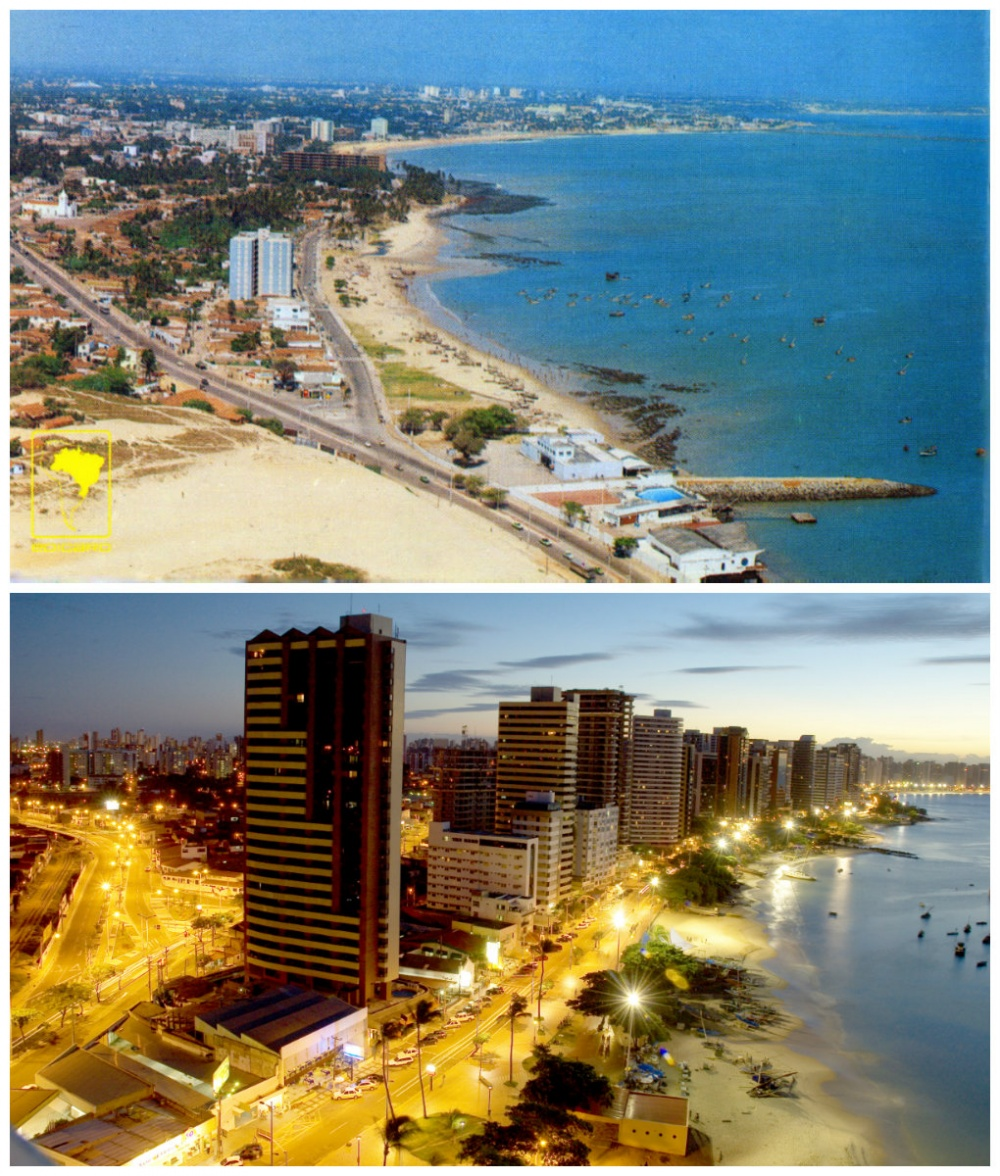 Fortaleza, Brazil: 1980 vs. now