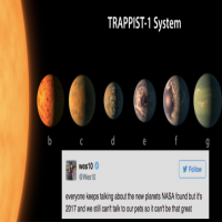 NASA found 7 Earth-sized planets and there could be aliens