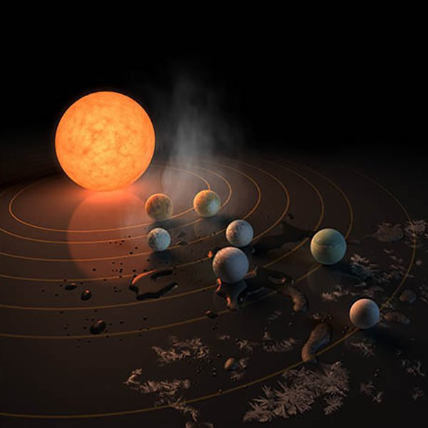 All of the planets might possibly have liquid water, and three of them could also have the right temperature needed for life. NASA has never found more habitable planets around one single star.