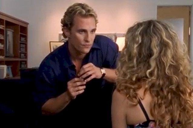 Matthew mcconaughey sex scenes