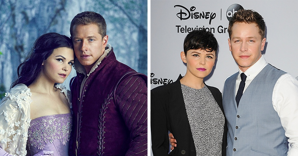Joshua Dallas and Ginnifer Goodwin