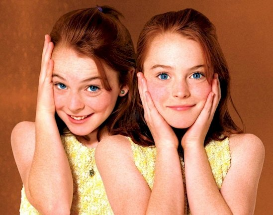 Lindsay Lohan was destined to be a star since childhood. She starred in several movies when she was young.