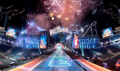 WWE's Set For WrestleMania 33 Has Been Revealed & It Is AWESOME!