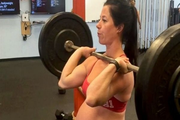 Emily Breeze Ross Watson wants to stay incredibly fit even when pregnant.