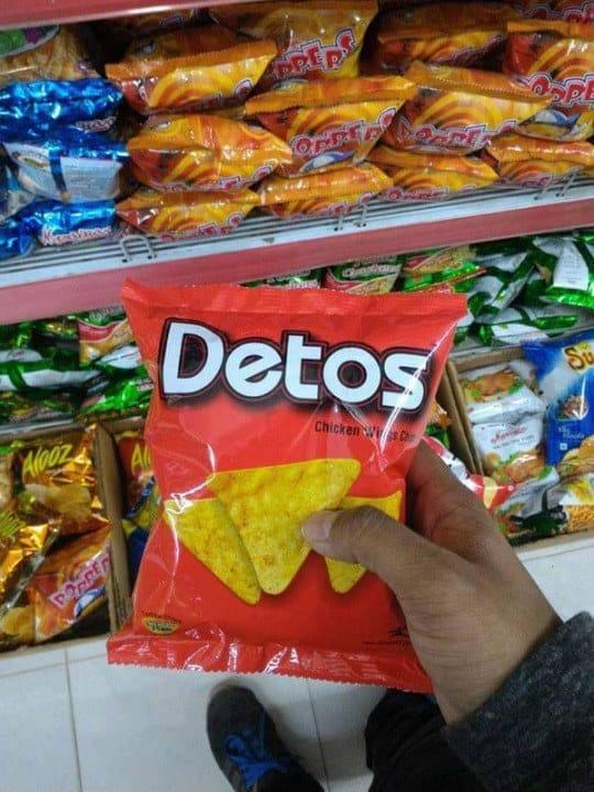 4. These knockoff Doritos: